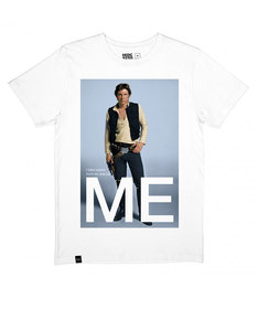 Dedicated Star Wars Han Solo Me White T-Shirt