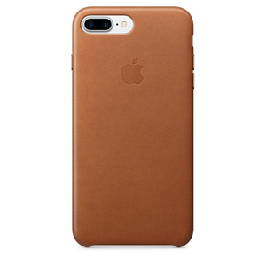 Apple Leather Case Saddle Brown iPhone 7 Plus