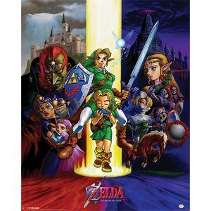 The Legend of Zelda Ocarina of Time Poster [40 x 50 cm]