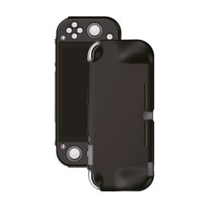 Gamewill Silicone Protective Cover Black with Grip for Nintendo Switch Lite