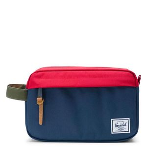 Herschel Chapter Carry-On Travel Kit Navy/Red/Woodland Camo