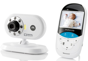 Motorola MBP27T Baby Monitor with Thermometer