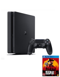 Sony PS4 Pro 1TB Jet Black + Red Dead Redemption