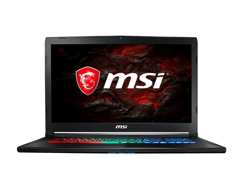 "MSI Gaming GP72MVR 7RFX Leopard Pro 2.8GHz i7-7700HQ 17.3"" Black Notebook"
