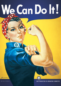 We Can Do It Maxi Poster [61 x 91.5 cm]