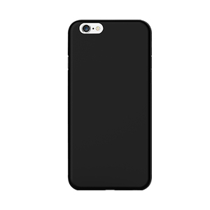 Ozaki Ocoat Jelly Case Black with Screen Protector iPhone 6