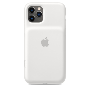 Apple Smart Battery Case with Wireless Charging White for iPhone 11 Pro