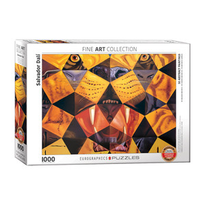 Eurographics 50 Abstract Paintings by Salvador Dali Jigsaw Puzzle [1000 Piece]