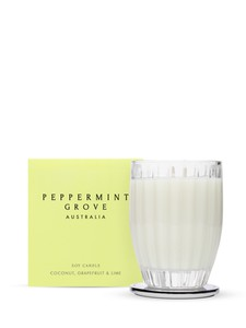 Peppermint Grove Coconut Grapefruit & Lime Candle 350g