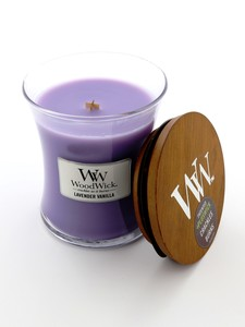 Woodwick Medium Candle Jar Lavender Vanilla