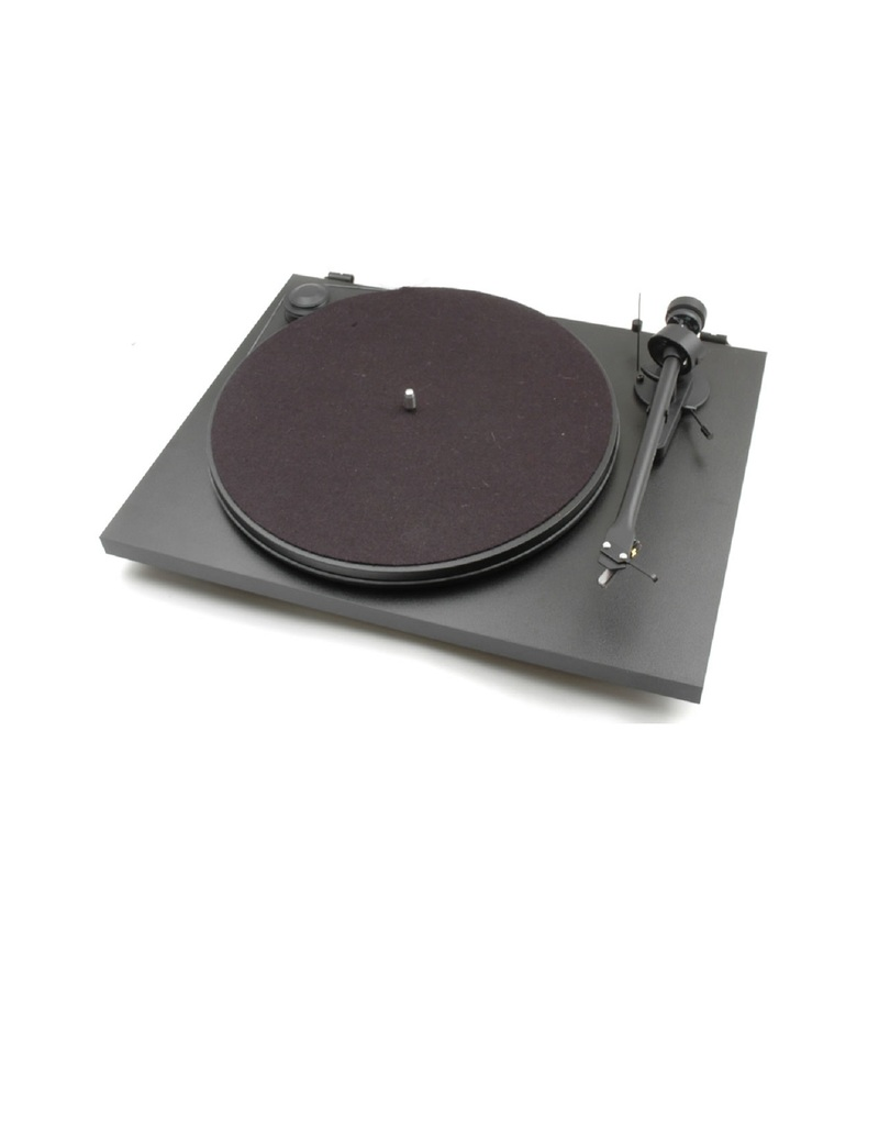 Pro-Ject Essential II Phono USB Om5E Black Turntable