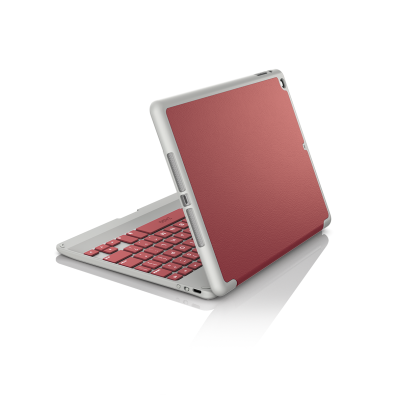 Zagg Folio Bluetooth Keyboard English/Arabic Crimson Red Ipad Air 2