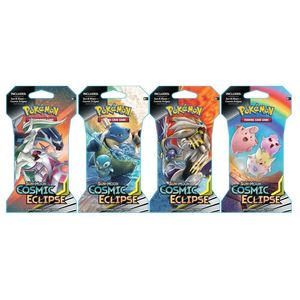 Pokemon TCG SM12 Cosmic Eclipse Sleeved Booster [Includes 1]