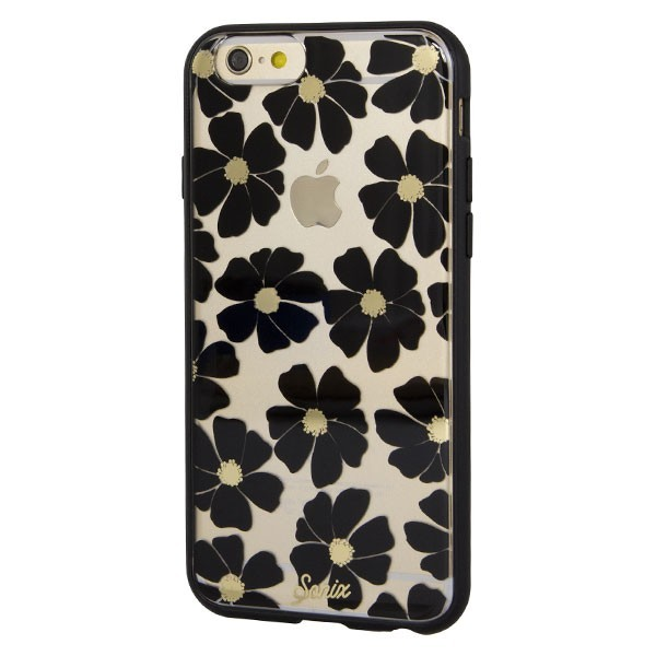 Sonix Wild Flower Black Case Clear Coat Iphone 6S