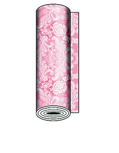 Paperproducts Table Runner Lace Pastel Pink