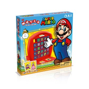 Winning Moves Top Trumps Match Super Mario Card Game