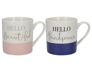 Ava & I Can Mugs His & Hers 450ml [Set of 2]