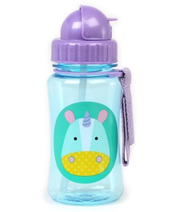 Skip Hop Zoo Straw Bottle Unicorn