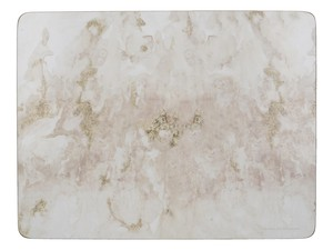 Premium Marble Placemats Grey [Set Of 6]