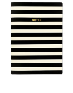 Go Stationery Colourblock Mono Stripe A4 Notebook