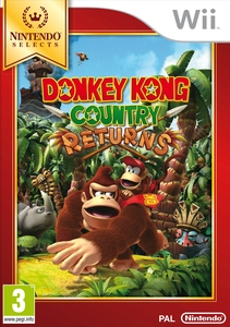 Selects Donkey Kong Country Returns Wii