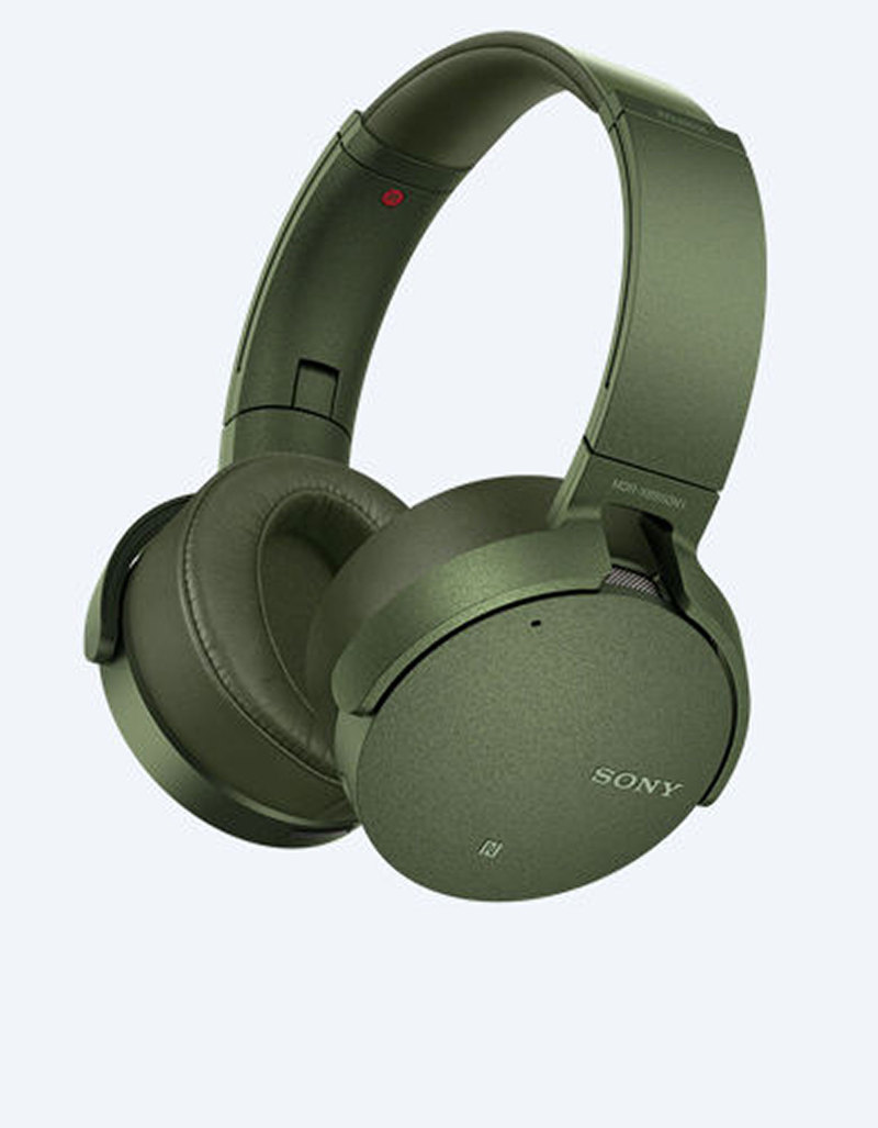 Sony MDR-XB950N1 Green Extra Bass Bluetooth Noise Cancelling Headphones