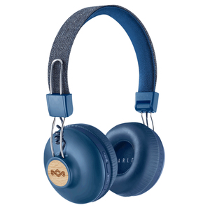 The House of Marley Positive Vibration 2 Wireless Signature Denim Bluetooth On-Ear Headphones