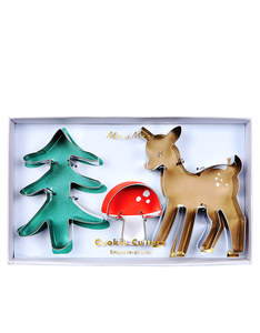 Meri Meri Christmas Woodland Cookie Cutters