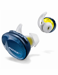 Bose Soundsport Free Wireless Earphones Navy/Citron