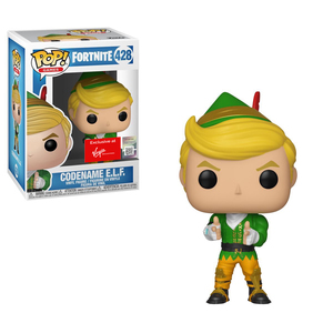 Funko Pop Games Fortnite S1 Codename E.L.F. Vinyl Figure