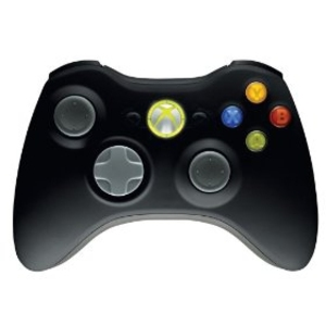 Wireless Controller Matte Black Xbox360