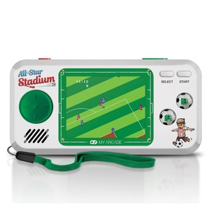 My Arcade All-Star Stadium Pocket Player White/Green