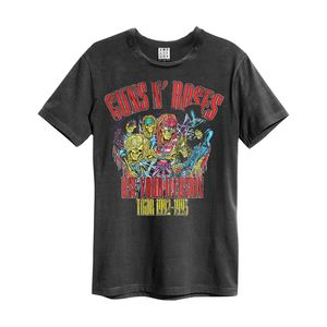 Guns N Roses Use Your Illusion Men'S T-Shirt Charcoal S