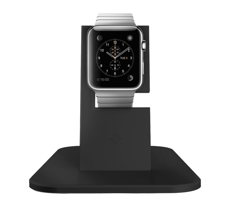 Twelve South Hirise Stand Black Apple Watch