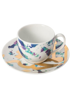 Silsal Design Fairuz Espresso Set Peacock