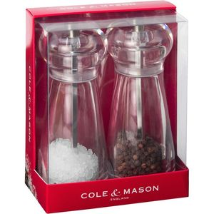 Cole And Mason Lancing Salt & Pepper Mill Set Acrylic [14 Cm]