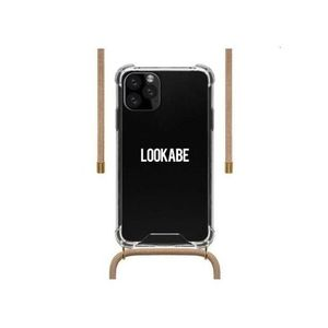 Lookabe Necklace Clear Case + Nude Cord for iPhone 11 Pro