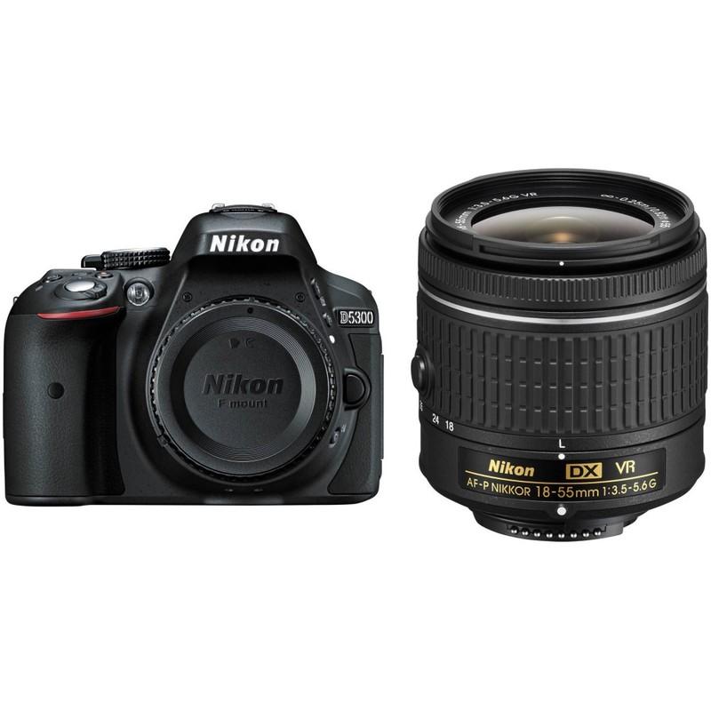Nikon D5300 DSLR Camera + 18-55mm Lens