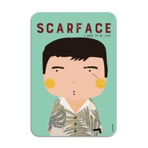 Scarface Card by Ninasilla [10.5 x 14.8 cm]