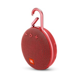 JBL Clip 3 Fiesta Red Portable Bluetooth Speaker