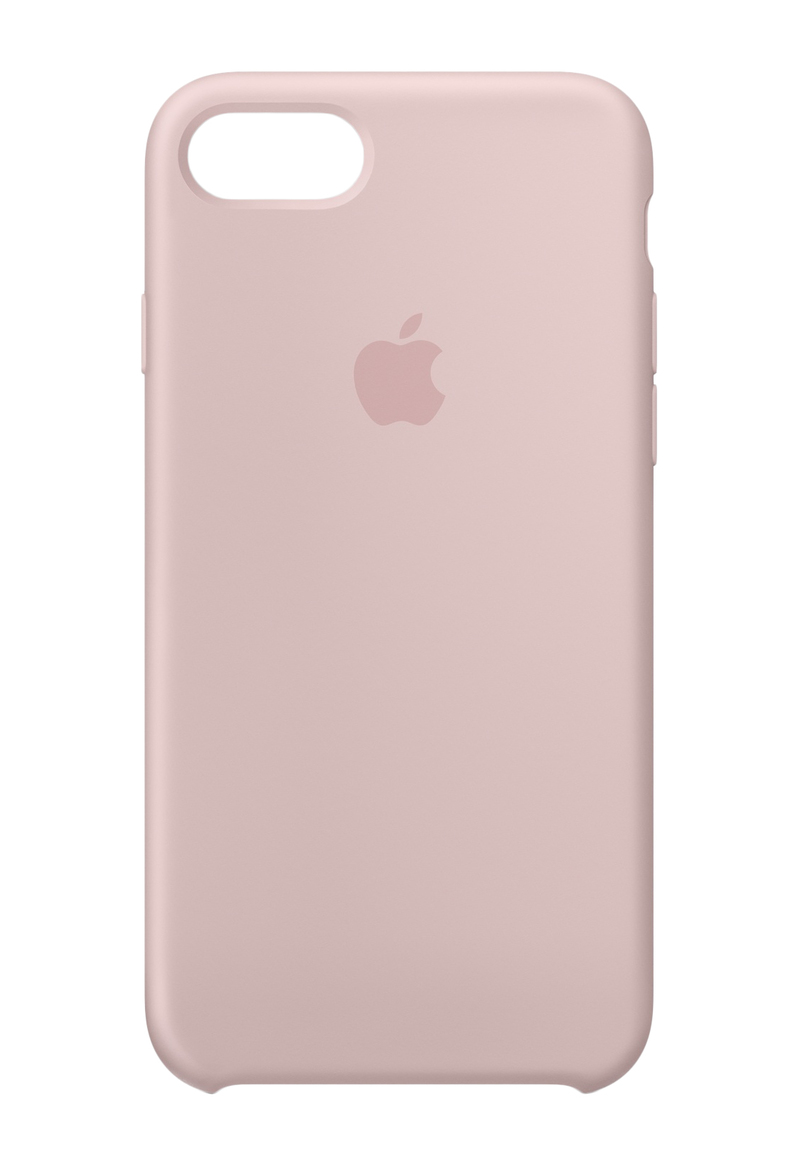 best service d3d1c 07a6b Apple Silicone Case Pink Sand for iPhone 8/7
