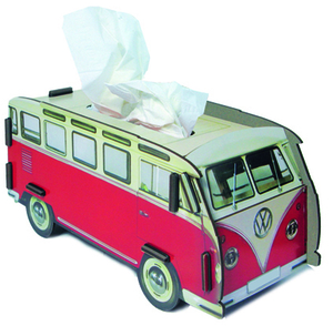 Werkhaus Tissue Box Vw Bus Red