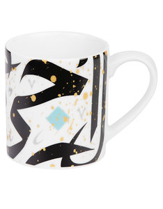 Silsal Tarateesh's Mug Black/Turquoise