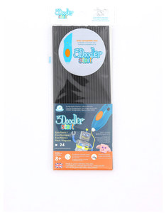 3Doodler Start Plastic Packs Black Charcoal
