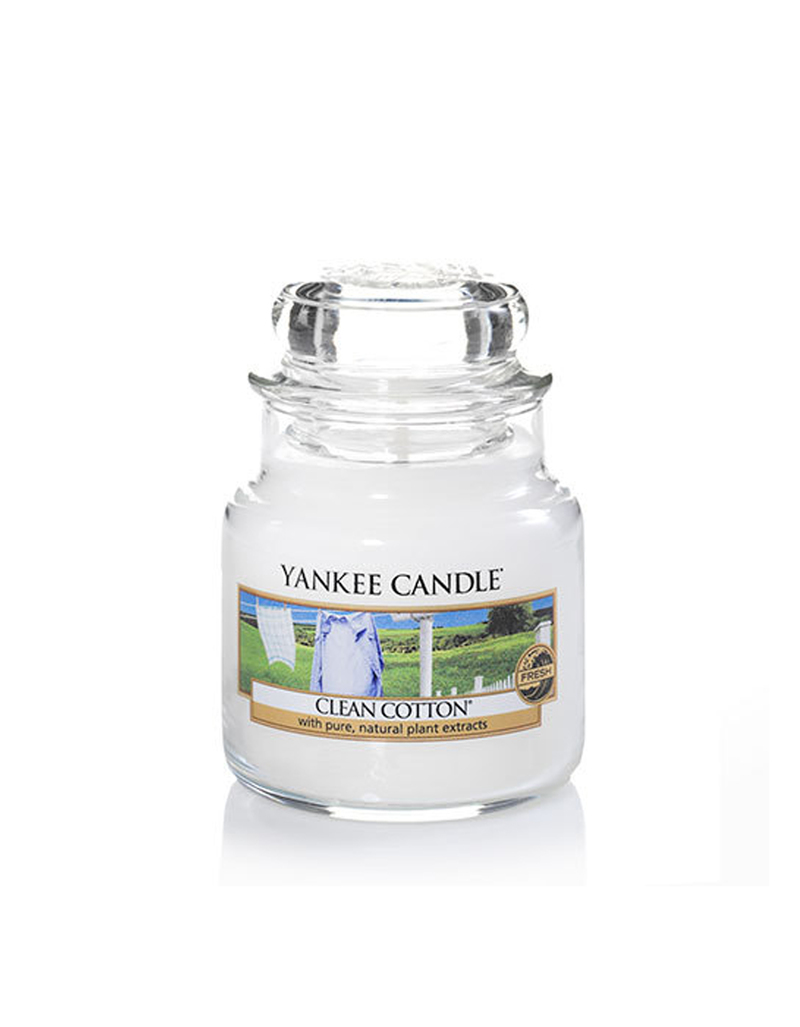 Yankee Classic Jar Small Clean Cotton