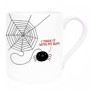 Ohh Deer I Made It With My Bum White/Black Mug