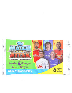MATCH ATTAX PREMIER LEAGUE 2018 CARDS [PACK OF 6]