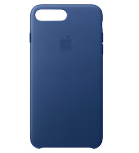 Apple Leather Case Sapphire For iPhone 7 Plus
