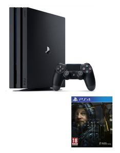 Sony PlayStation PS4 Pro 1 TB Console + Death Stranding [Bundle]