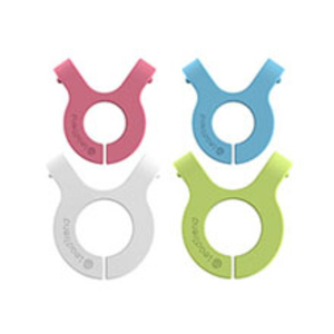 Lead Trend Cable Series A-Clip Pink/Blue/White/Green [4 Pack]